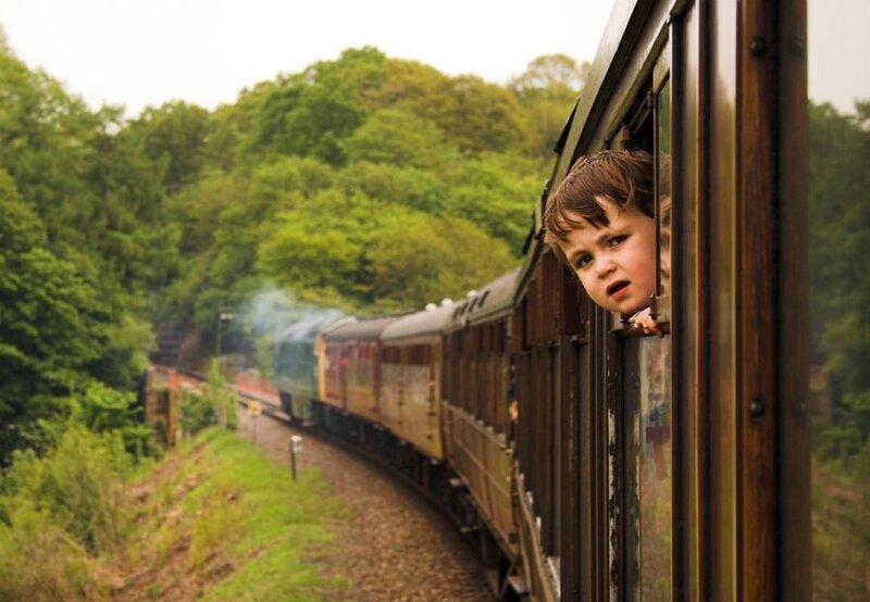 смеси картинки где поезд с людьми клубникой для именников