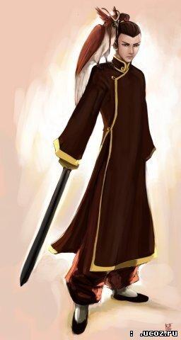 4. Внешность.  Сокка - высокий юноша со смуглой кожей, голубыми глазами и каштановыми волосами, которые он обычно...