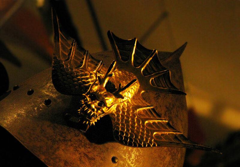 Рогатый дракончик