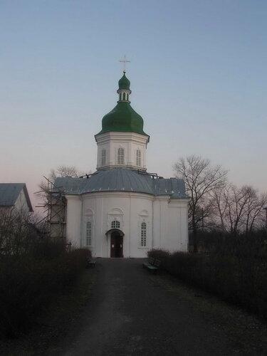 Нежин, Свято-Введенский женский монастырь. Церковь Введения во храм Пресвятой Богородицы