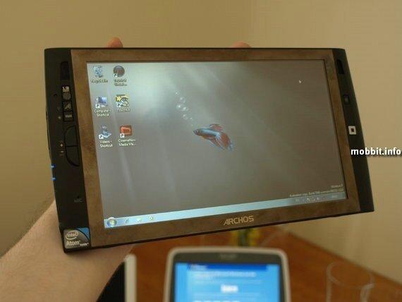 Archos 9 PCtablet - мини-планшетник на Windows 7