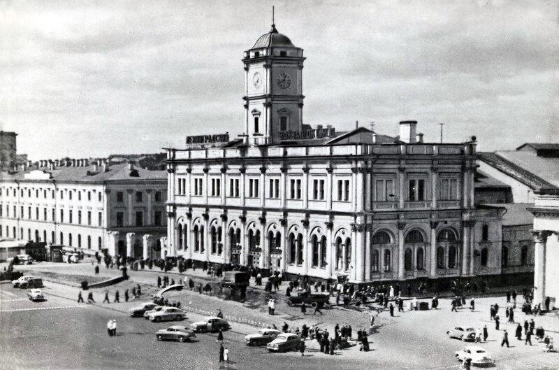 Москва. Ленинградский вокзал