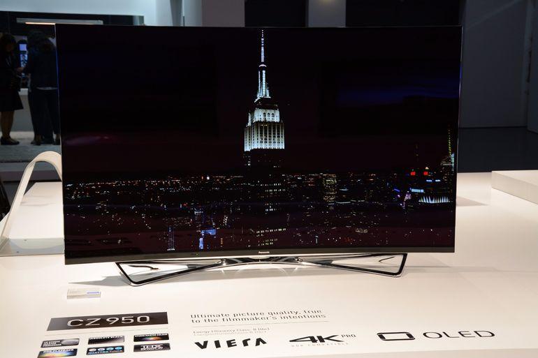 Компания Panasonic разработала телевизор 4K по технологии OLED