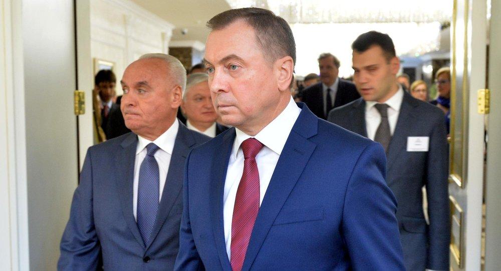 Министр иностранных дел Беларуси Владимир Макей на неформальной министерской встрече стран-участников'Восточного партнерства