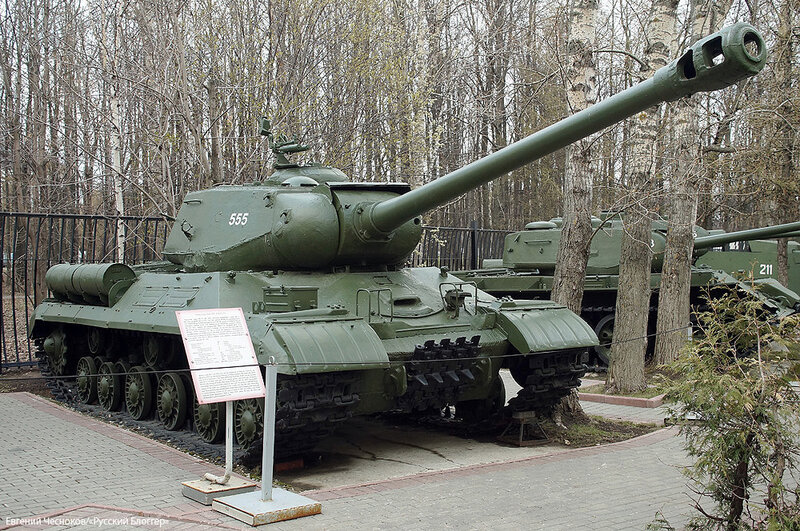 46. Музей ВОВ. 21.04.15.80.тяжелый танк ИС-2..jpg