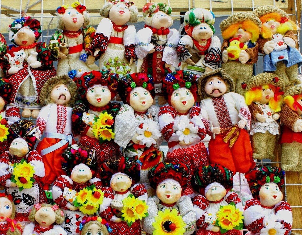 Украинские куклы