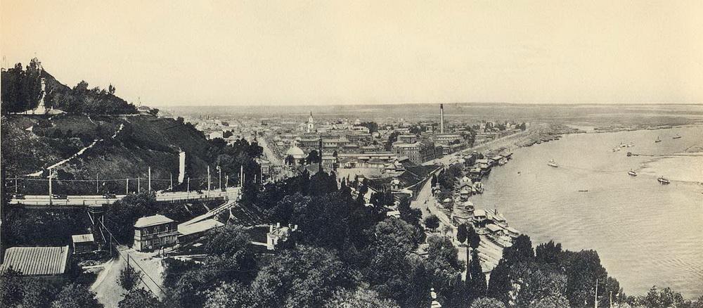 Панорамы Киева нач. XX - нач. XIX вв.