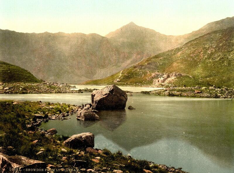 24. Гора Сноудон со стороны Ллин Ллид