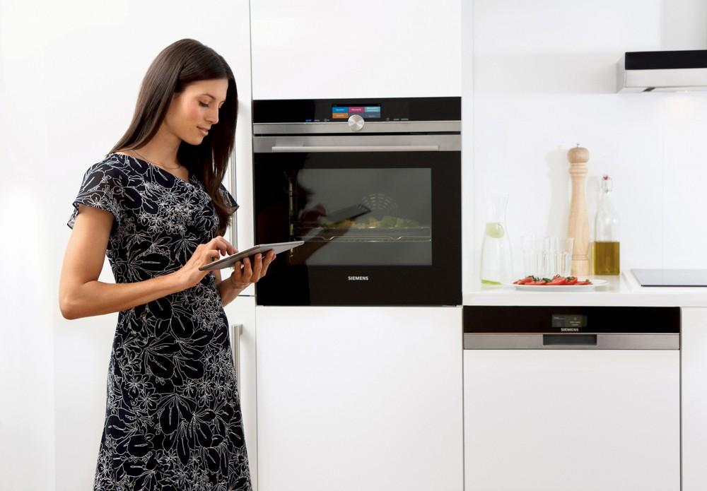 Управление духовым шкафом с телефона Siemens