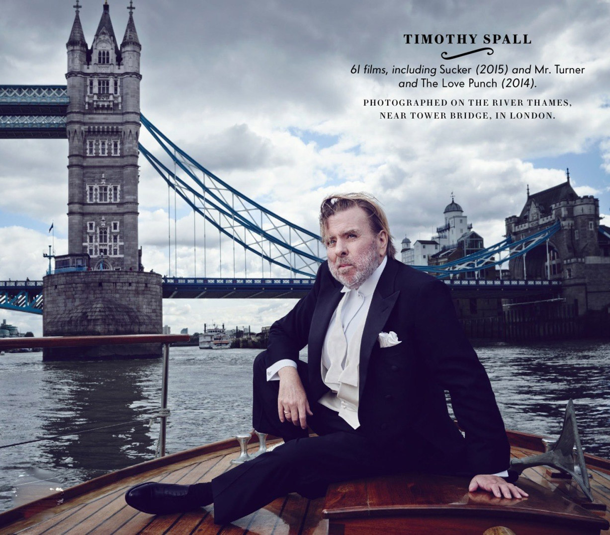 Лучшие британские актеры в проекте The 2015 Hollywood Portfolio by Jason Bell in Vanity Fair march 2015 - Тимоти Сполл / Timothy Spall