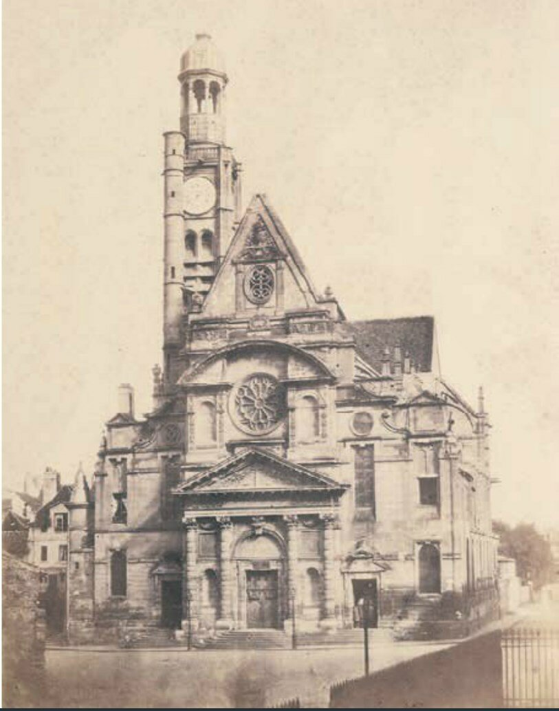 1853. Церковь Сен-Этьен дю Мон