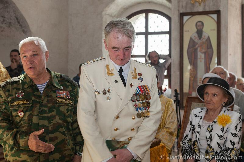 Генерал Черкасов рассказал о ключевой роли в восстановлении Сувороского храма Овсянникова Владимира Ивановича