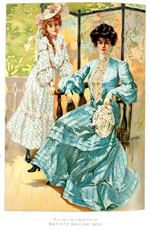 Wash dress fabrics издательство год 1904