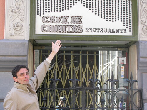 Мадрид. Кафе де Чинитас - Cafe de Chinitas