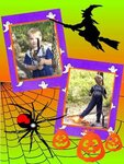 Хелловин -   открытки шаблоны для Photoshop