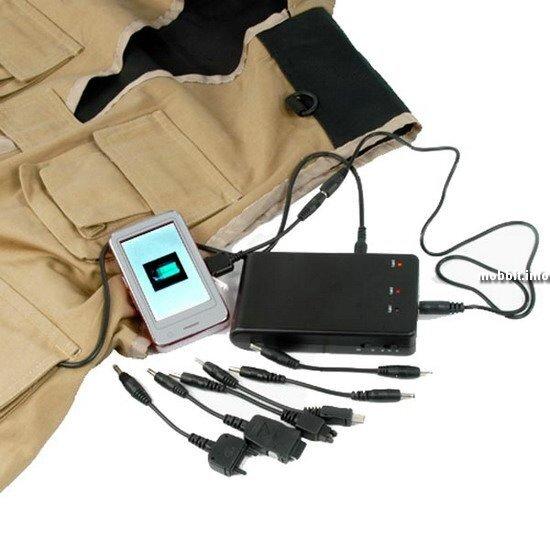 Solar Vest – жилетка и зарядное устройство в одном