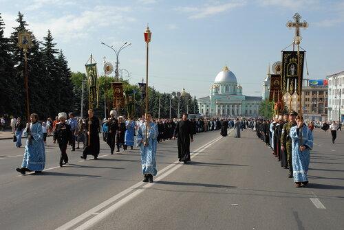 Из-за крестного хода центр Курска перекроют
