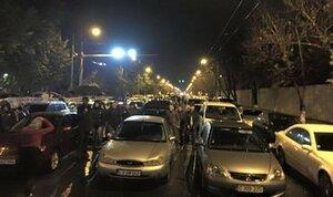 «Наша партия» перекрыла движение в центре Кишинева