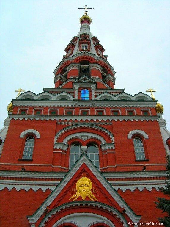 Пермь. Колокольня Вознесенско-Феодосиевской церкви (1904 г.)