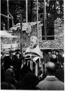 Прот. Григорий Светловский. 1938 год. Закладка Никольского храма в Хельсинки.