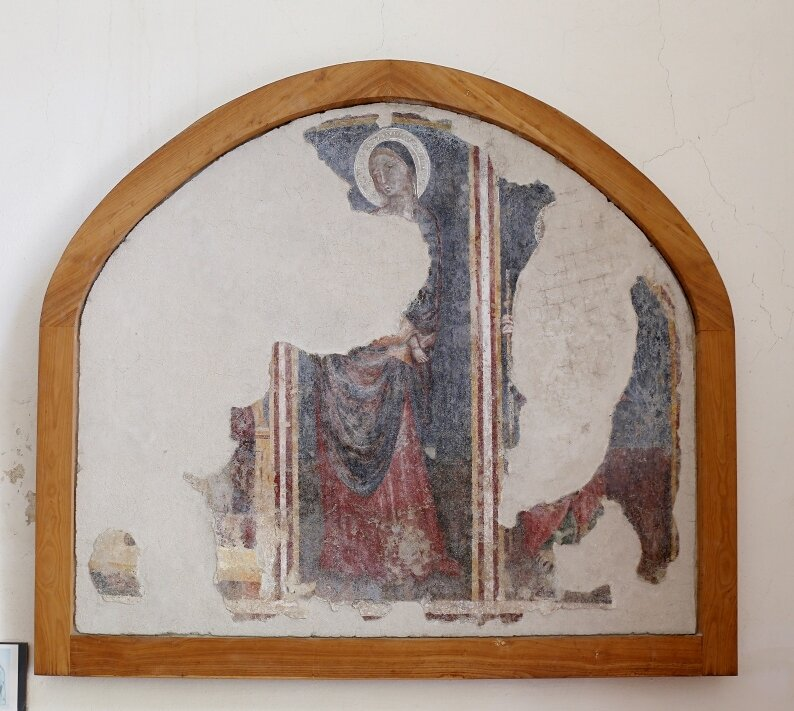 Искья,  Арагонский замок. Церковь Мадонны Либера (Chiesa della Madonna della Libera)
