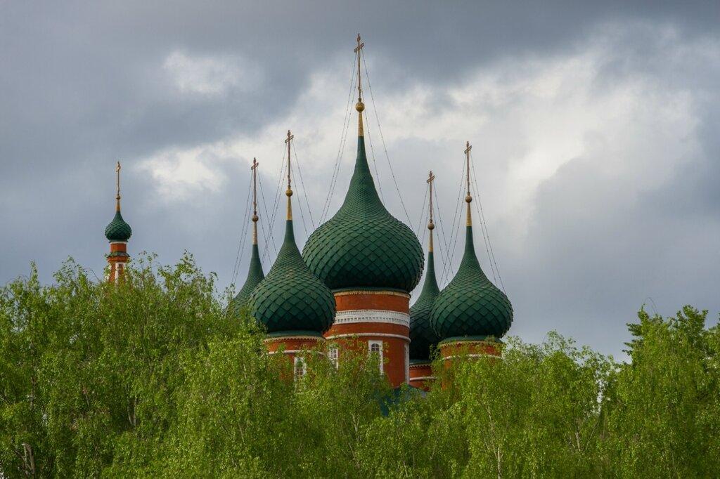 Купола храма Архангела Михаила, Ярославль