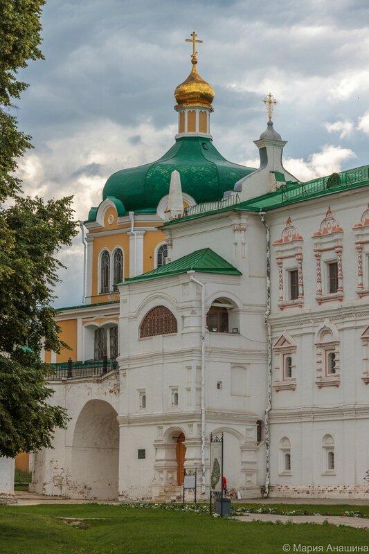 Дворец Олега и Христорождественский собор, Рязанский кремль