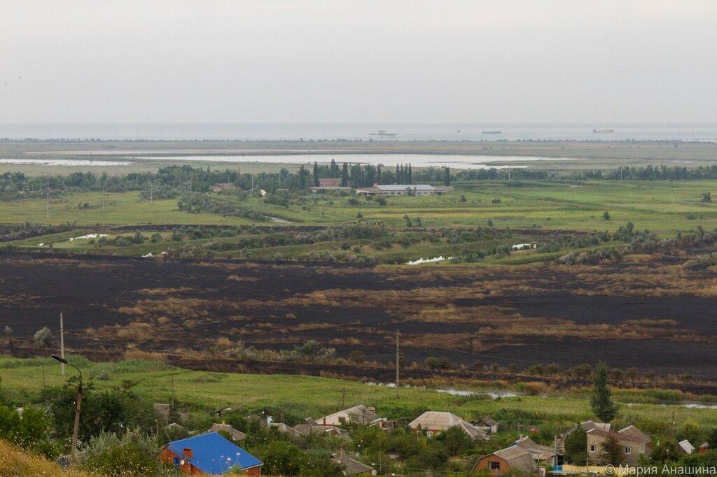 Панорама окрестностей Темрюка