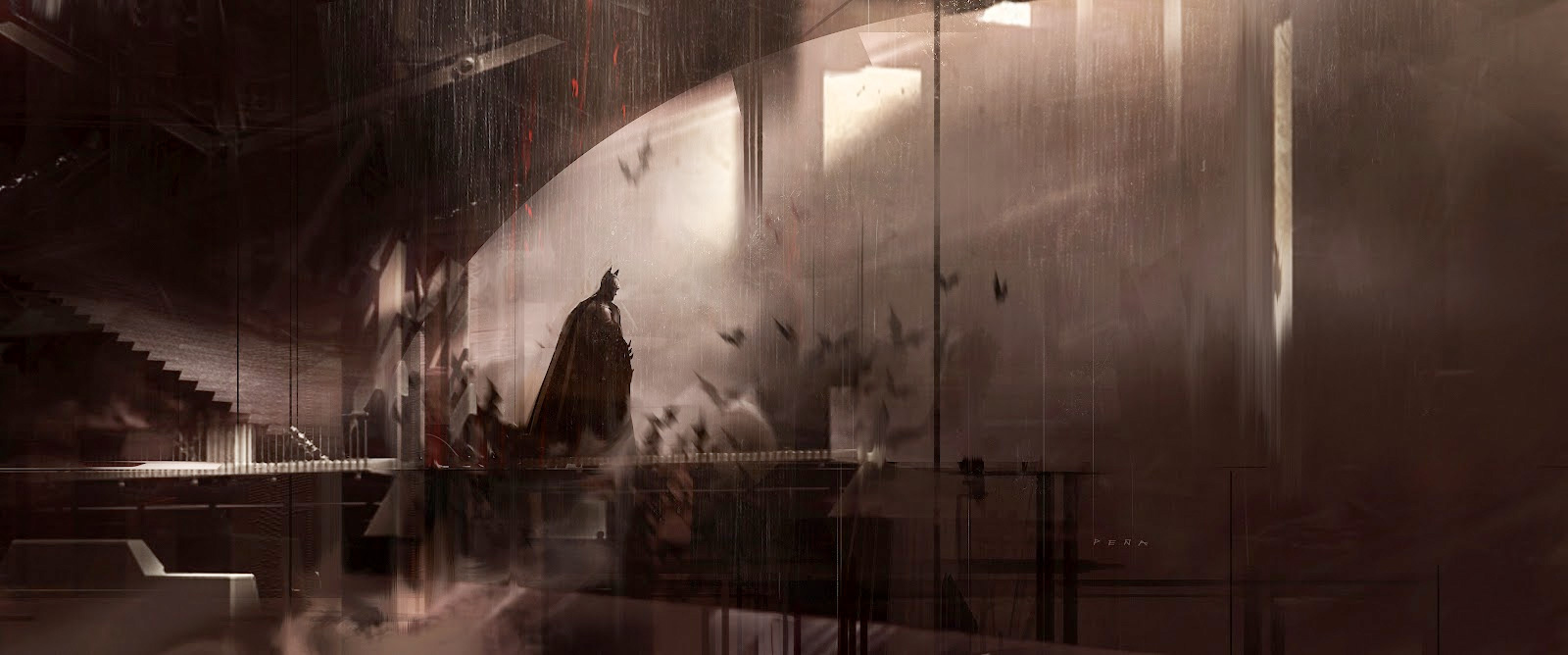 Batman Concepts and Illustrations I
