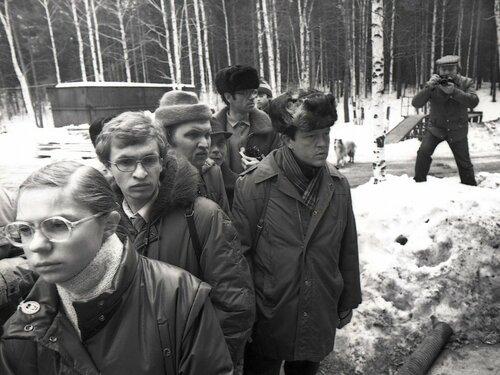 Челябинский фотоклуб. 1986 год