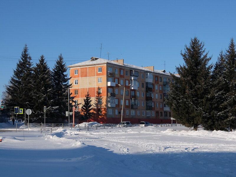 Юрга - Улица Исайченко
