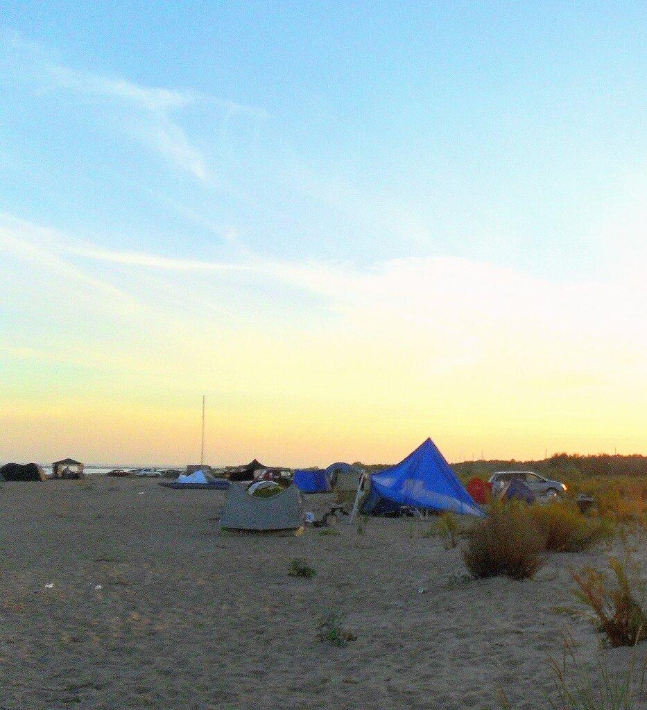 Миг Бытия, утро раннее, у моря, на слёте бардовском 06