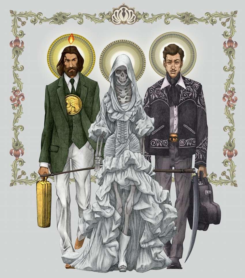 Деньги, смерть и наркотики - Святая троица всех несчастий современного мира