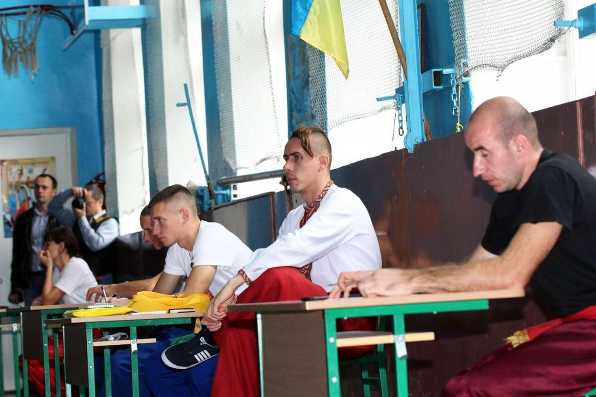 Квалификационный групповой экзамен в школе боевого гопака города Нетешин (Хмельницкая область) (16)