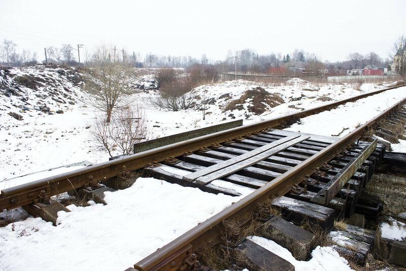 мост первого пути Императорской железной дороги у станции Александровская