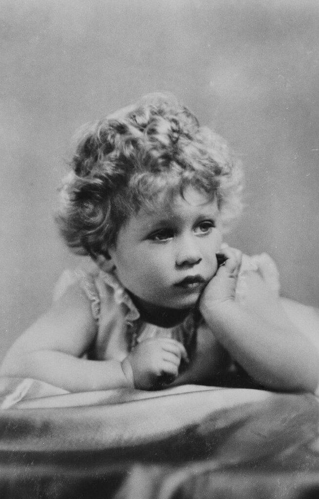 Marcus Adams (1875-1959)HM Queen Elizabeth II (b.1926) when Princess Elizabeth of York  circa 1928