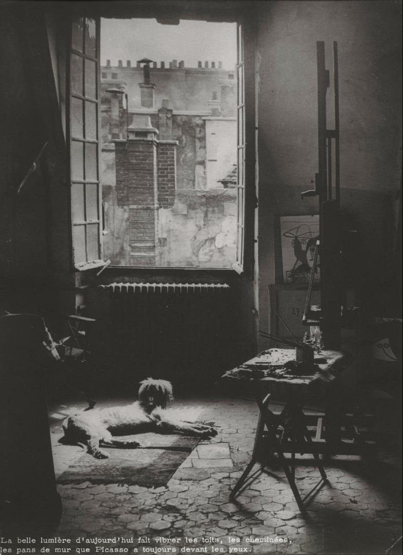 1944. Студия Пикассо на улице Августинцев