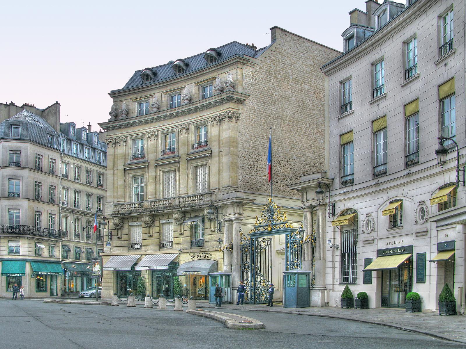 Улица Фобур Сент-Оноре