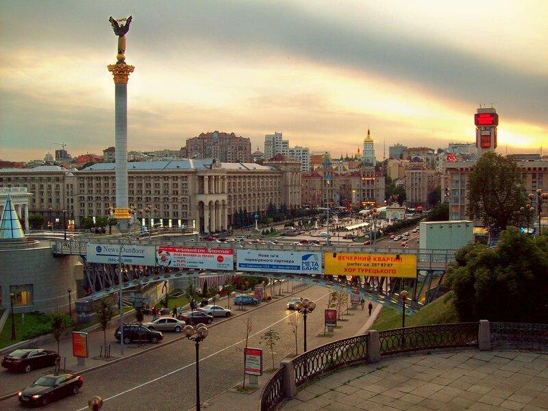 Площадка обозрения под Октябрьским дворцом