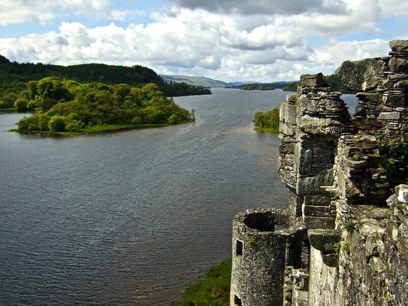Большое путешествие по Шотландии. 2009 год.