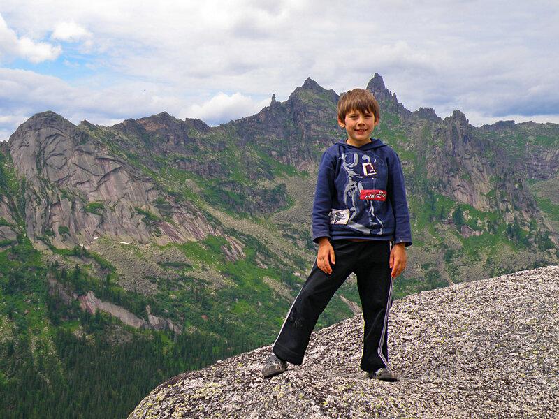 Кирилл на вершине Толстого Брата