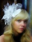 Свадебная шляпка КЭРРИ