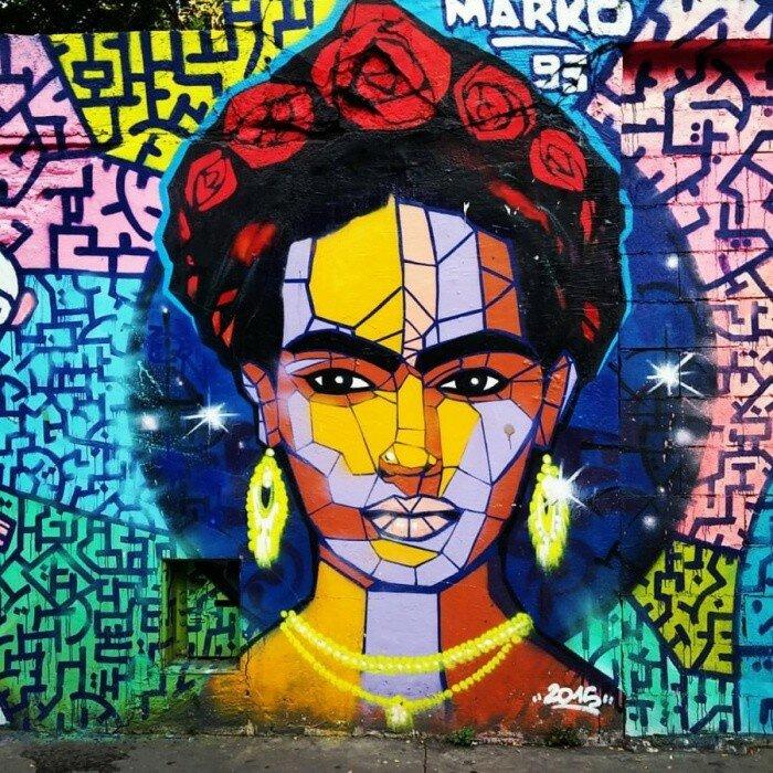 Уличный художник Marko.