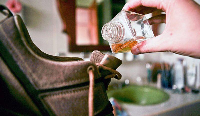 Как избавиться от запах в обуви в  414