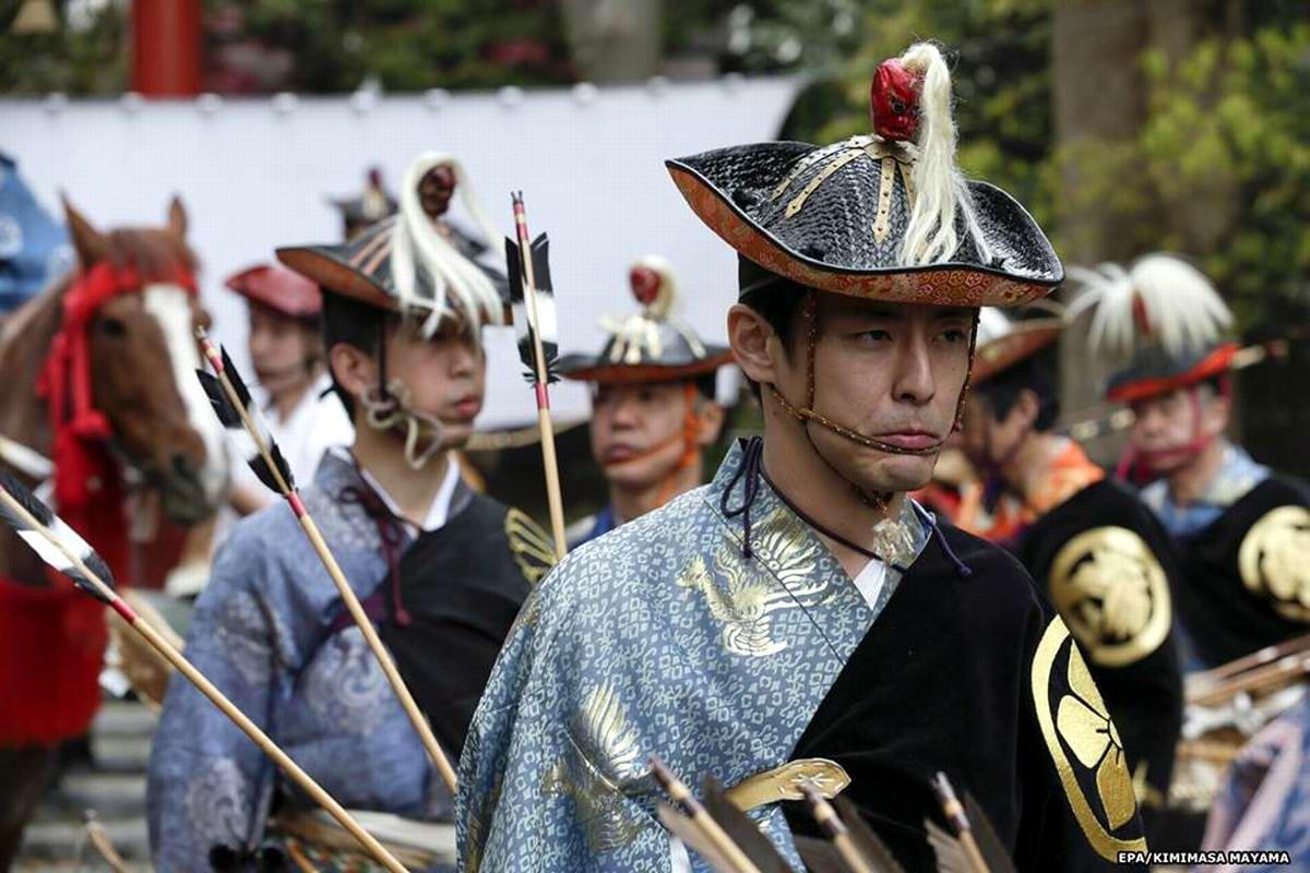 Стреляем из лука на полном скаку: Потомки японских самураев (2)