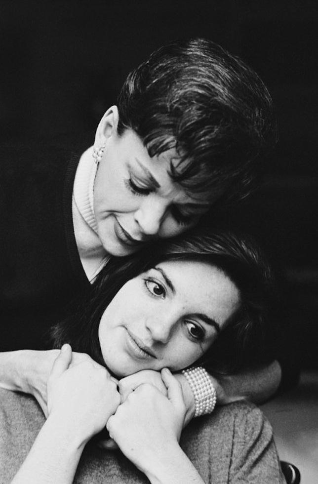 1963. Джуди Гарленд и Лайза Миннелли