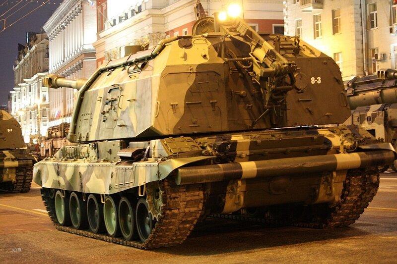 «Мста-С» — современная советская и российская самоходно-артиллерийская установка класса самоходных гаубиц, построенная на базе ходовой части танка Т-80 и орудия 2А64.