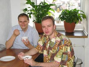 Программеры ))) - Тарас и Илья