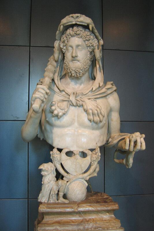 Коммод в виде Геркулеса