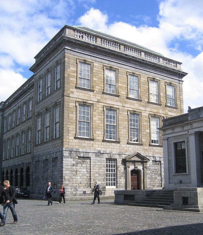 Старая библиотека Тринити-колледжа